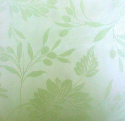 acrylic coated jacquard tablecloth