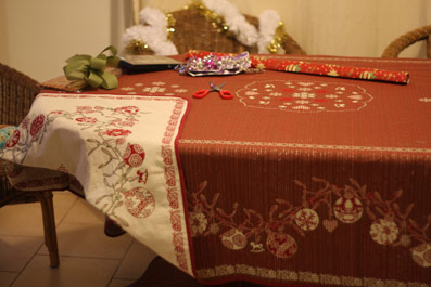 Holidays tablecloth