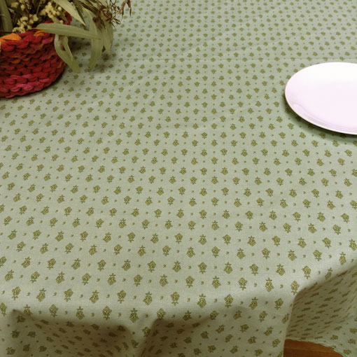 french provincial plastic coated tablecloth
