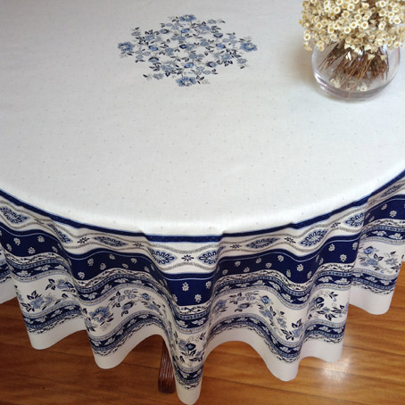 70in round french provencal tablecloth