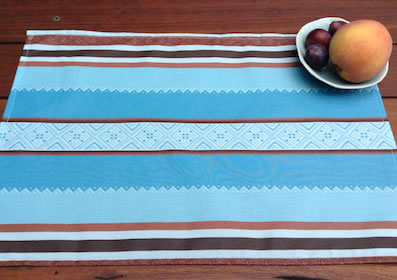 basque coated placemats