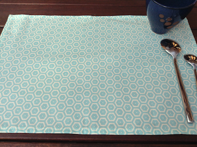 treated placemats